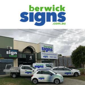 Berwick Signs